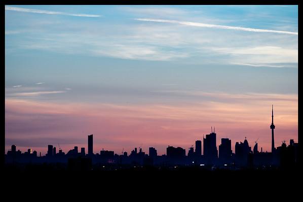 Toronto Downtown Skyline Project